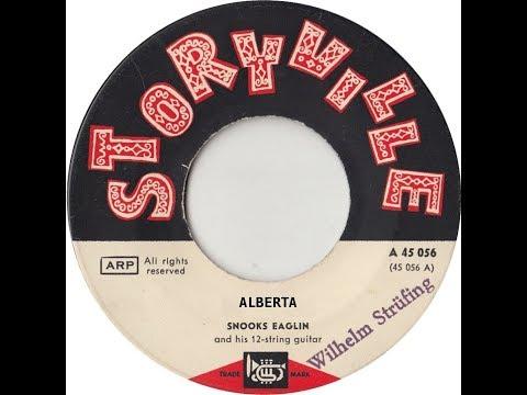 Snooks Eaglin (1963)  & Barry Goldberg (2018) - Alberta