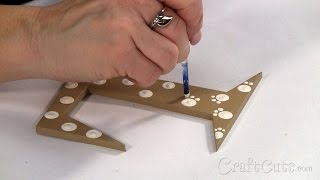 How to Paint Animal Prints on Letters