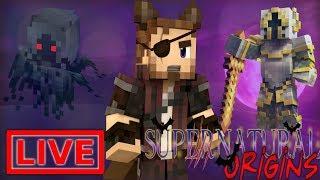 Minecraft Supernatural Origins #27.5 (Live Modded Survival)