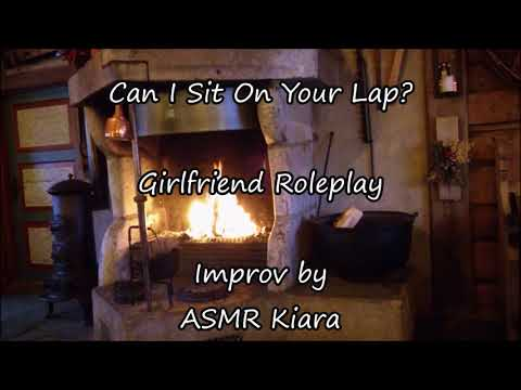 ASMR - Can I Sit On Your Lap?    Girlfriend Roleplay    Cuddles