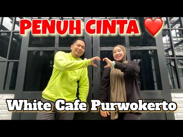 WHITE CAFE PURWOKERTO. Konsep cafe minimalis nan elegan
