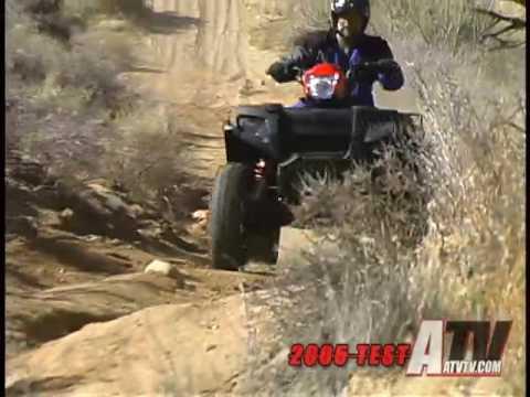 ATV Television Test  2005 Polaris Sportsman 700