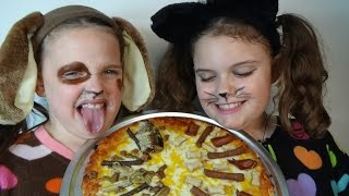 Bad Baby Puppy Kitty Pizza Challenge Victoria Annabelle Gross Hidden Egg