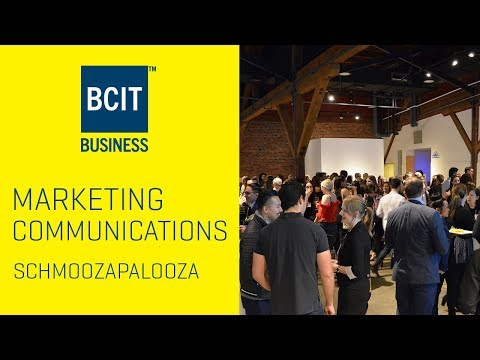 BCIT Marketing Communications - Schmoozapalooza Industry Networking Event