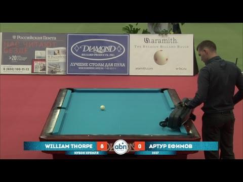 Kremlin Cup 2017. William Thorpe - Arthur Efimov