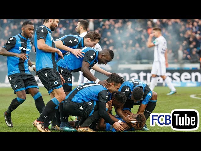 2017-2018 - Jupiler Pro League - 19. Club Brugge - RSC Anderlecht 5-0