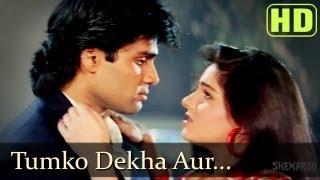 Tumko Dekha Aur - Sunil Shetty - Mamta Kulkarni - Waqt Hamara Hai - Bollywood Songs - Kumar Sanu