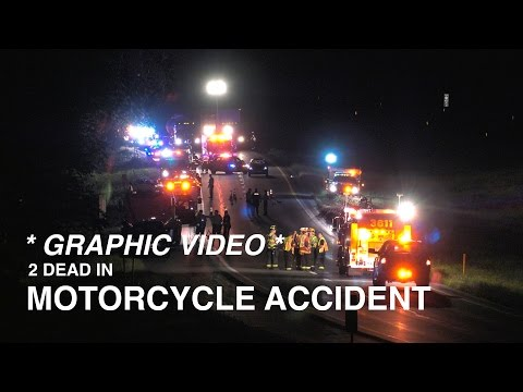 RAW VIDEO: **GRAPHIC** Double fatal motorcycle accident | Rt. 33