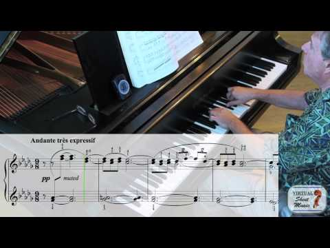 How to study and play Debussy's Clair de Lune