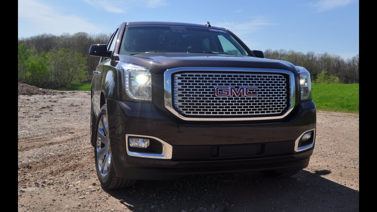 2015 Gmc Yukon Denali Road Test Review Big V8 Rumble Great Tech Youtube Premium