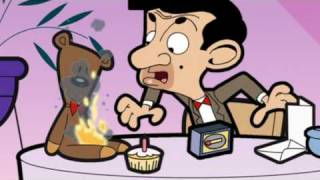 Teddy is on fire! Mr Bean -- Teddy brennt!
