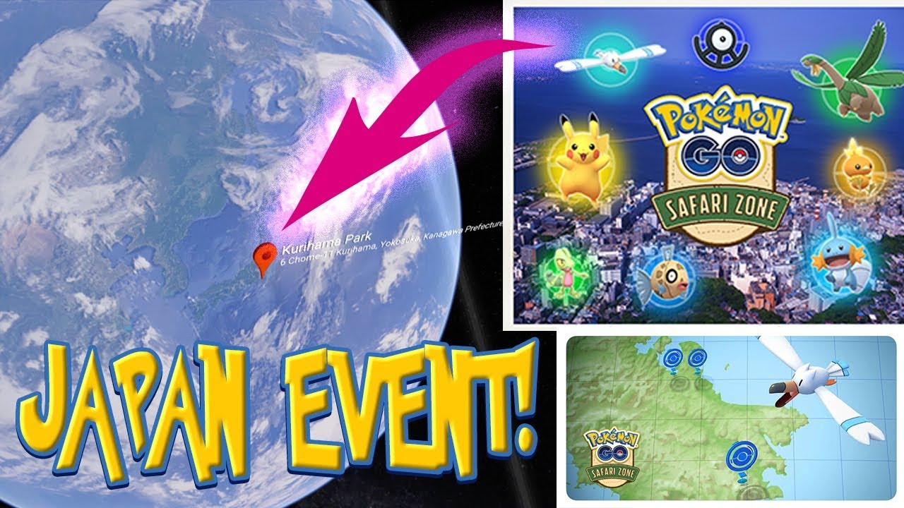 WOW! YOKOSUKA EVENT OVERVIEW IS AWESOME! Safari Zone Pokemon Go