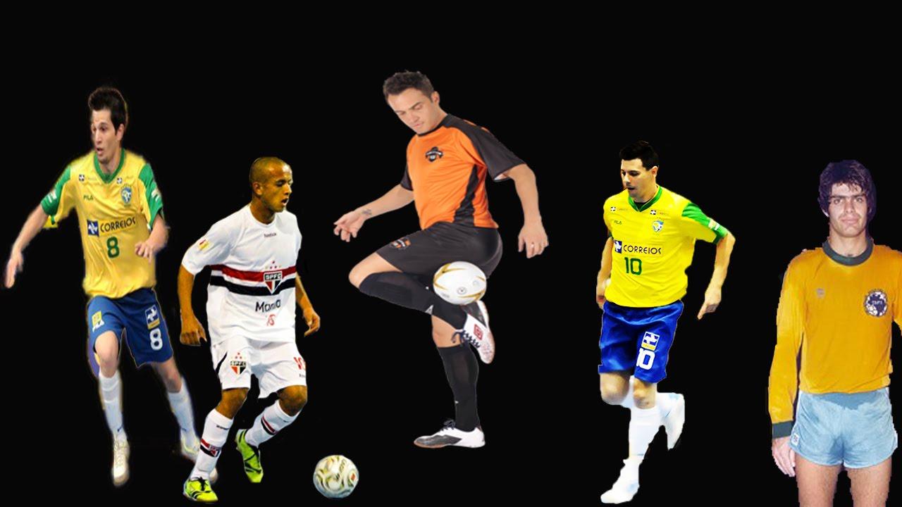 Os 5 Jogadores Mais Habilidosos do Futsal Brasileiro ☆Brazilian Futsal  Skills☆ - YouTube 19b98de25ab91
