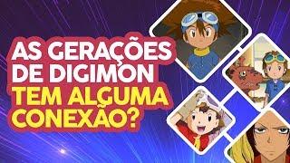 As gerações de Digimon tem alguma conexão? | Perguntas e Respostas