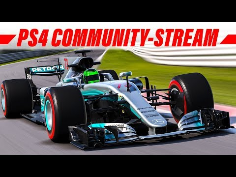 F1 2017 Livestream: Online Community-Rennen (PS4) | Deutsch