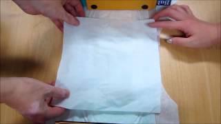 기저귀 -  흡수력좋은기저귀 테스트 동영상입니다.