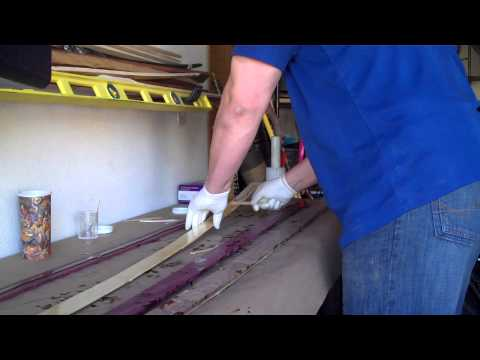 How to Glue-Up a Bamboo Backed Longbow: Epoxy