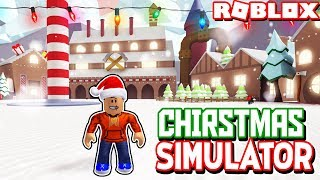 *NEW* CHRISTMAS SIMULATOR 2018! *EPIC!* (Roblox North Pole)