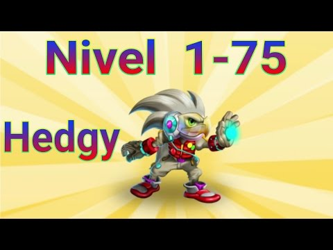 Hedgy - Nivel 1 al 75 & Combate | Monster Legends