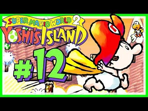 YOSHI'S ISLAND # 12 👶 Von Wunder-Babies und Ballon-Reisen! [HD60] Let's Play Yoshi's Island