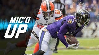 Eric Weddle Mic'd Up Commanding Ravens Defense vs. Browns | NFL Films | Sound FX