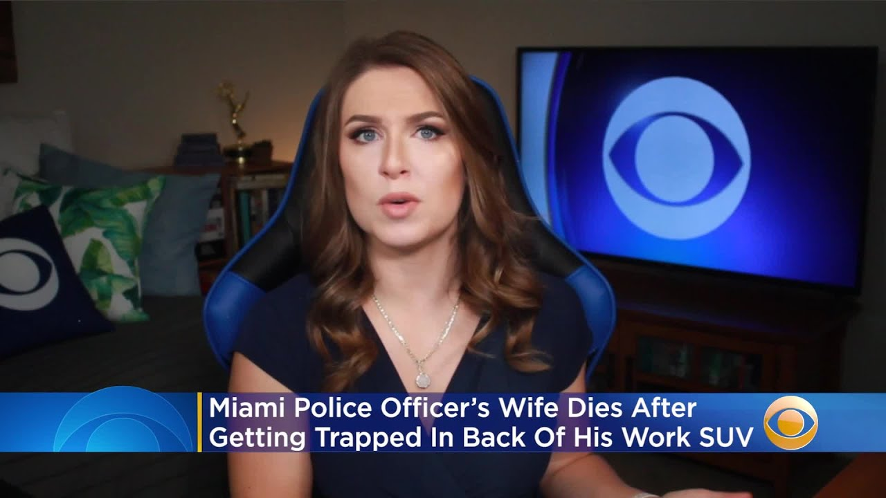 Miami Police Officer's Wife Dies After Getting Trapped In Back Of His Work SUV