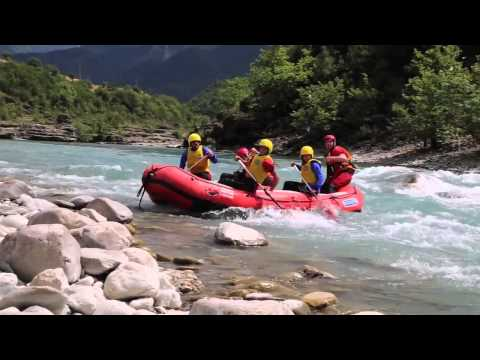 ALBANIA  WILDERNESS - RAFTING IN VJOSA, PERMET