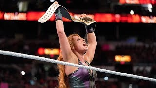 Becky Lynch Wins WWE Smackdown Women