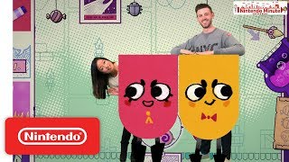 Snipperclips Plus – Cut it Out Together! Co-Op Puzzling – Nintendo Minute