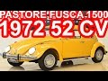 PASTORE Volkswagen Fusca 1500 1972 Amarelo MT4 RWD 52 cv 10,3 mkgf 126 kmh 0-100 kmh 26,1 s #Fusca