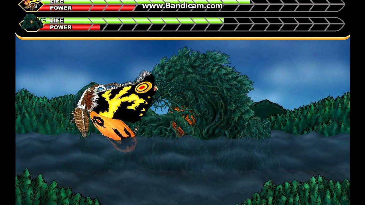 godzilla daikaiju battle royale mothra vs biollante youtube