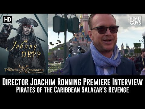 Joachim Ronning Premiere   Pirates of the Caribbean: Salazar's Revenge