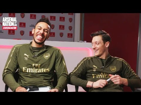 Aubameyang and Ozil | Arsenal Nation LIVE: Teammates Special
