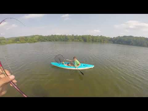 Spruce run Kayak fishing