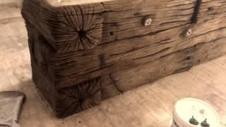 видео Декоративные беседки и ротонды для сада из камня
