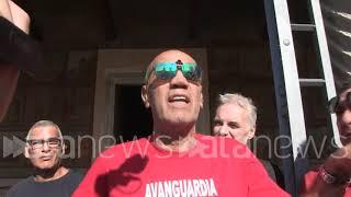 """Delle Chiaie, un militante di Fn: """"Un eroe e voi siete tutti delle m....de democratiche"""""""