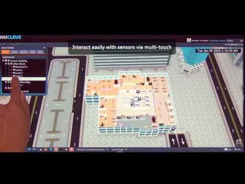 NUCLEUS 3D Situation View Platform for Your Smart Premises - Features Video