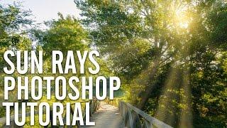 Create realistic sun rays in Photoshop