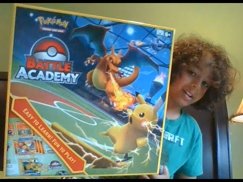 """The Toy Unboxer - unboxing """"Pokémon Trading Card Game: Battle Academy""""! 