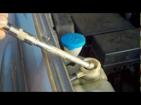 Nissan Transmission Coolant Fluid problem .mpg - YouTube