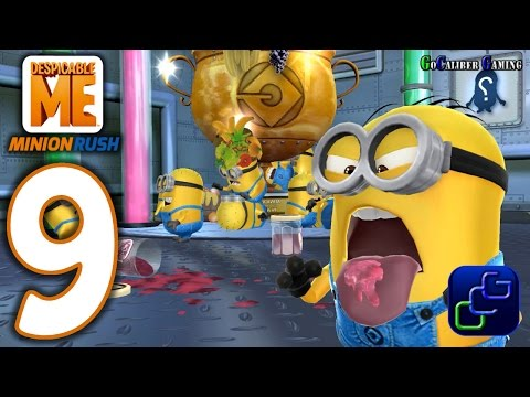 Despicable Me Minion Rush Android Walkthrough - Part 9 - NEW Update Jelly Lab Gru's Lab Level 1