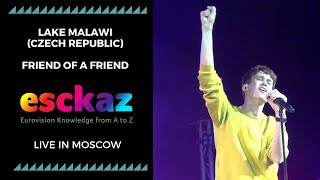 ESCKAZ in Moscow: Lake Malawi (Czech Republic) - Friend of a Friend (at Moscow Eurovision PreParty)