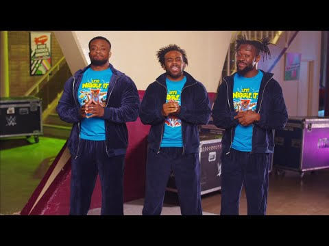 "The New Day ""audition"" for the Nickelodeon Kids' Choice Awards"