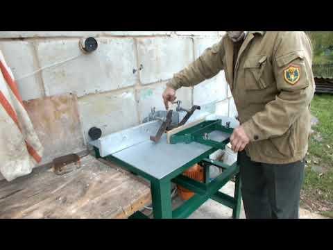 Самодельный фрезерный станок по дереву с насадными фрезами ч 4