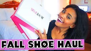 Fall Shoe Haul 2015! TRUE LIFE: I'M ADDICTED TO SHOES!