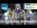 Sh Figuart Shredder Teenage Mutant Ninja Turtles Detailed Look From Toy Fair 2017 video
