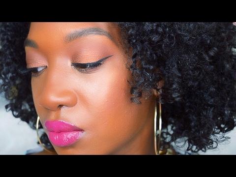 Easy Bronzey Metallic Eye  Makeup Look | Easy Makeup Tutorial