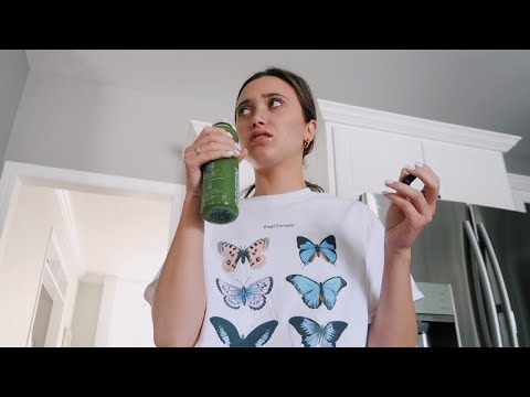 dramatic teenager tries a juice cleanse for 1 day thumbnail