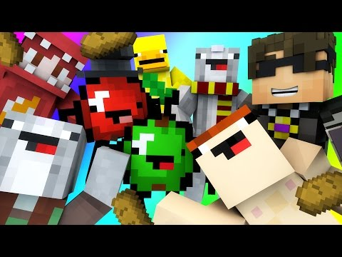 Minecraft Mini-Game : DO NOT LAUGH! (THE ULTIMATE SCALE, APPLE TURNS HULK!) w/ Facecam