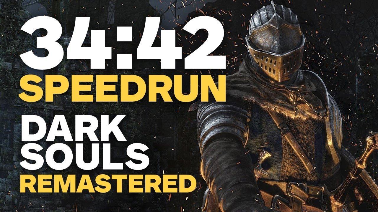 Dark Souls Remastered Finished In 34 Minutes - Speedrun